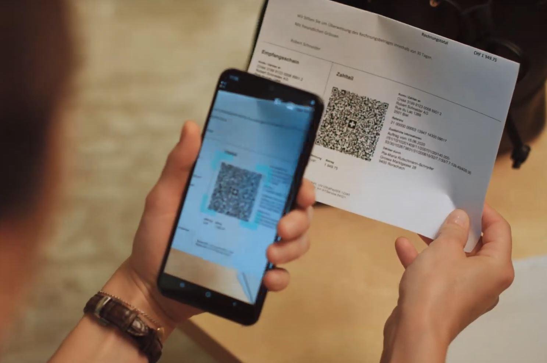 QR-Rechnung scannen